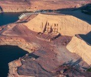 Abu Simbel from Above-Mazada Tours
