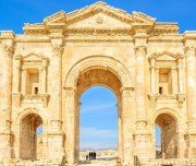 arch-of-hadrian-in-the-ancient-jordanian-Mazada Tours