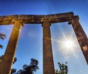 Iconic columns Sun Oval Plaza - Mazada Tours